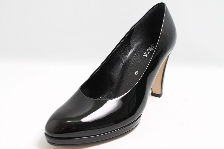 Gabor Pumps schwarz Lack Hightech