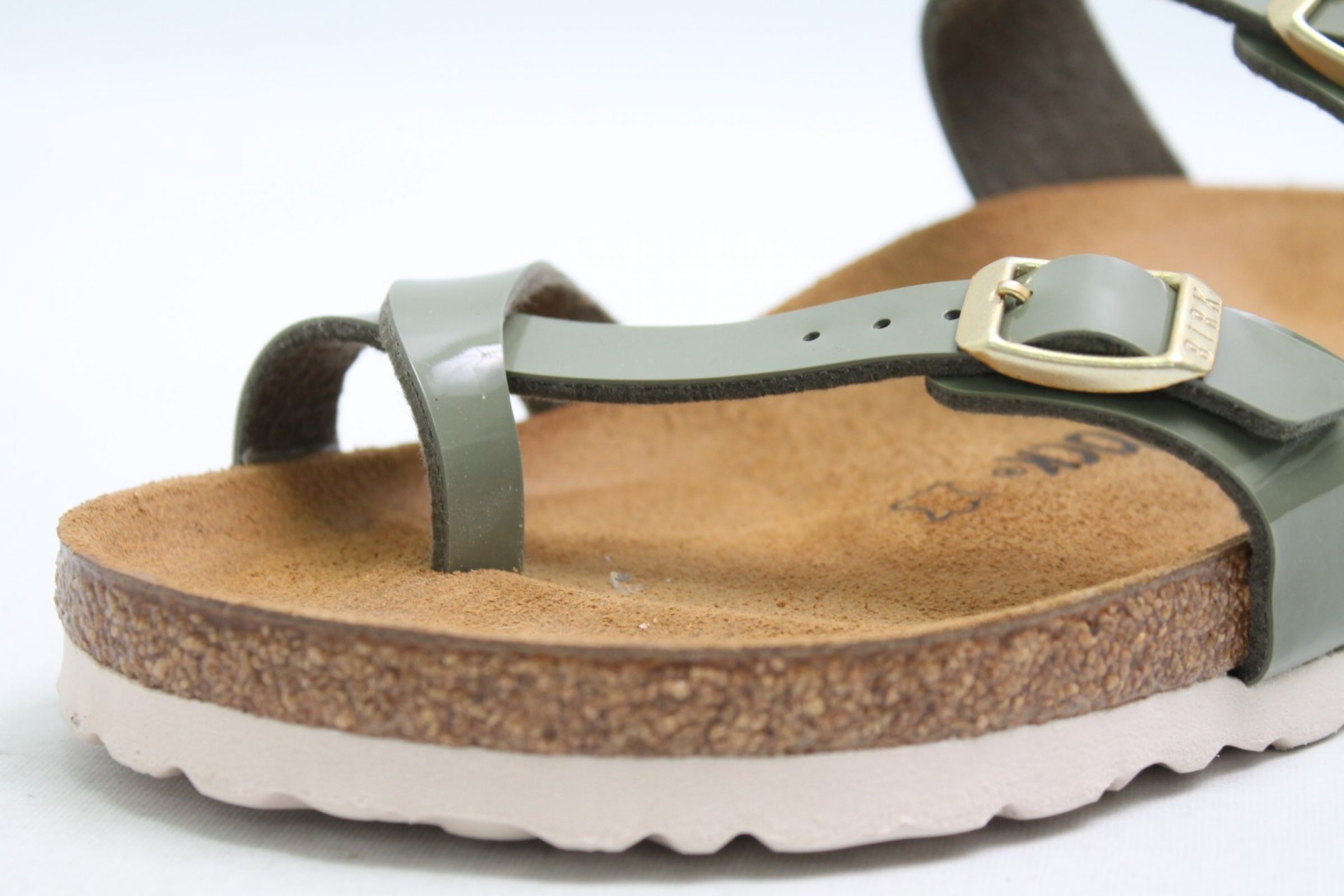 Details about Birkenstock Mules Green Patent Birko Flor Leather Footbed Mayari narrow width show original title