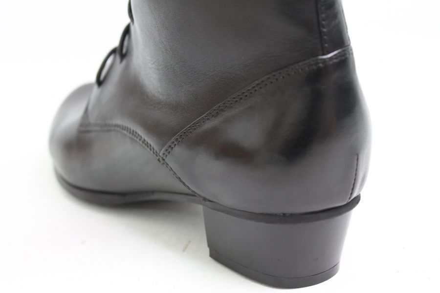 Regarde Le Ciel Boots Black Real Leather Gothic Style | eBay